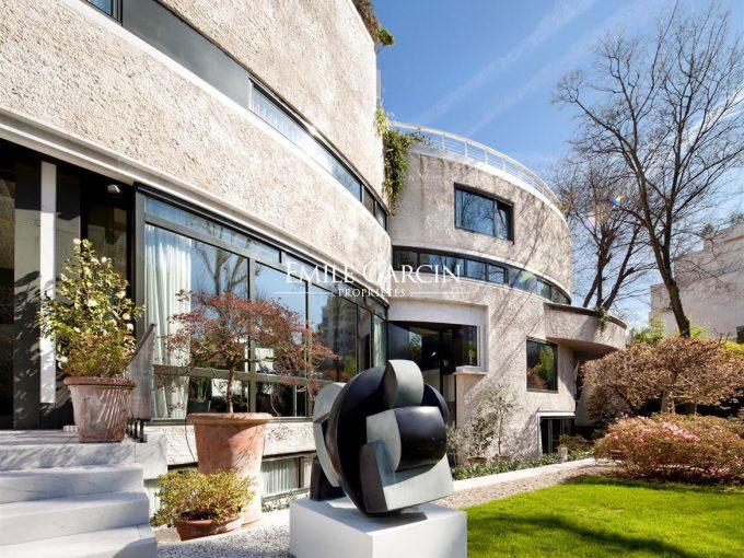 Portal Inmobiliario de Lujo en Paris, presenta chalet de lujo venta en La Muette, mansión moderna para comprar y propiedad exclusiva contemporánea en venta en Francia.