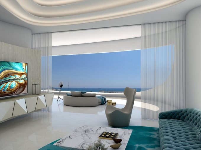Portal Inmobiliario de Lujo en Lárnaca, presenta ático de lujo venta en Chipre, piso lujoso para comprar y apartamento exclusivo en venta en Distrito de Lárnaca.
